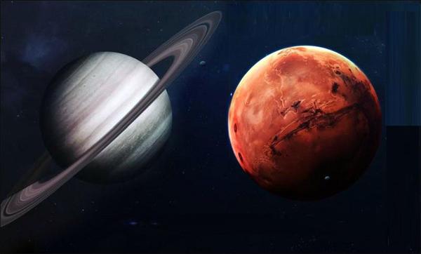 Соединение Марса и сатурна
