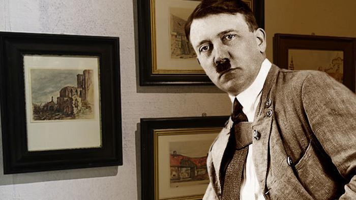 Гитлер-художник